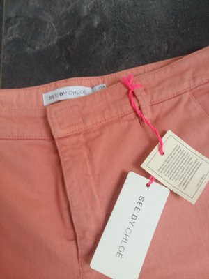 See by Chloé Slim Jeans apricot