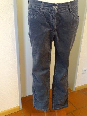 Brax Pantalon chinos bleu-bleu foncé coton