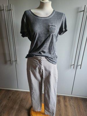 Orsay Pantalone jersey argento-beige chiaro