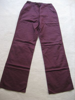 tolle hose lila pflaum 3suisses gr. xs/s 34/36 sommerhose
