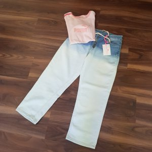 Monday Afternoon 7/8-jeans rosé-azuur