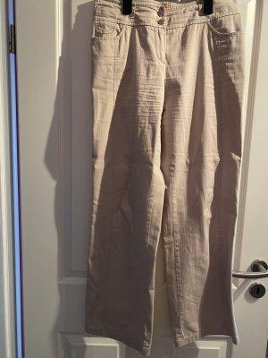 Apriori Stoffen broek beige-room Linnen