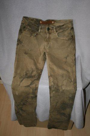Faith Pantalón de cinco bolsillos marrón Algodón