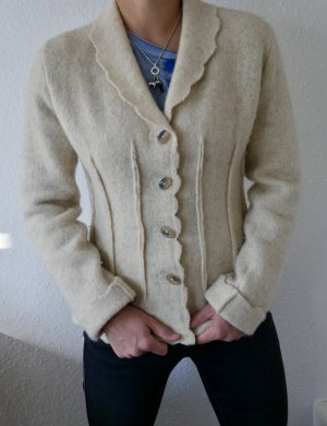 Tolle Jacke aus echter Wolle