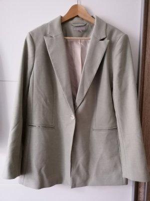 H&M Klassischer Blazer sage green-pale green