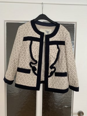 Tweed blazer zwart-room