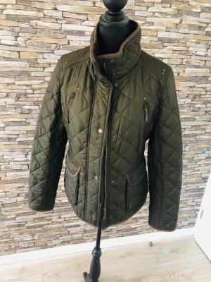 Tolle Jacke für kuschelige Herbsttage in Olivegrün