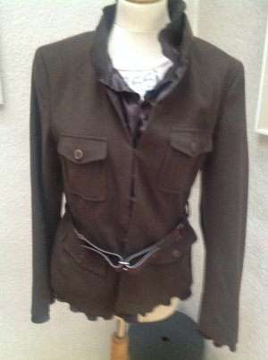 Strenesse Military Jacket green grey mixture fibre