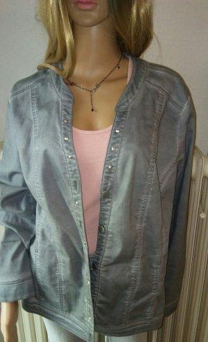 Via appia due Oversized Jacket light grey-grey