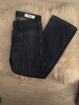 Blue Ridge Denim Jeans a gamba dritta blu