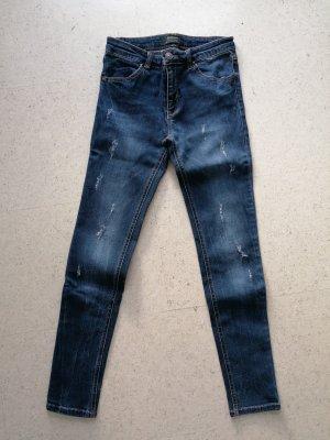 Stradivarius Jeans skinny multicolore coton