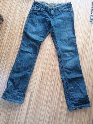 Mogul Jeansy z prostymi nogawkami ciemnoniebieski