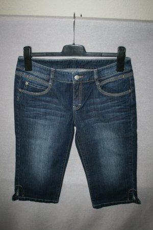 Esprit Jeans a 3/4 blu scuro Cotone