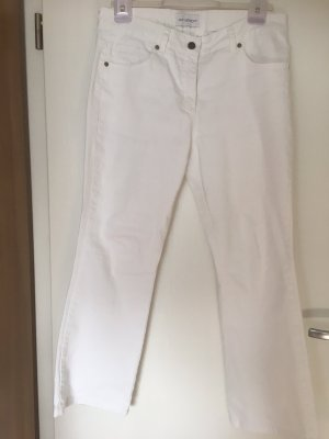 Amy Vermont Five-Pocket Trousers white