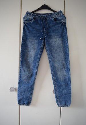 Baggy jeans veelkleurig Katoen