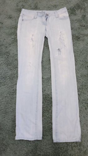 Tolle Jeans Löcher Used Look Gr. 34