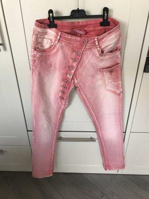 Tolle Jeans mit Knopfleiste Gr. 36