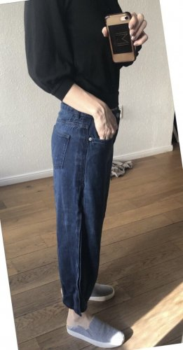 French Connection Tube Jeans dark blue