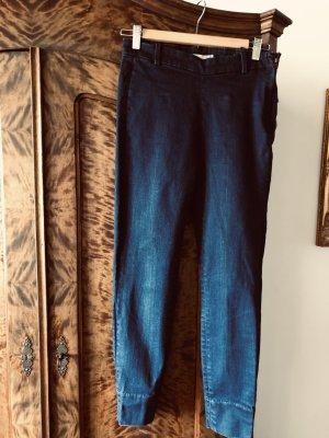 Zara Woman Jeans skinny blu Tessuto misto