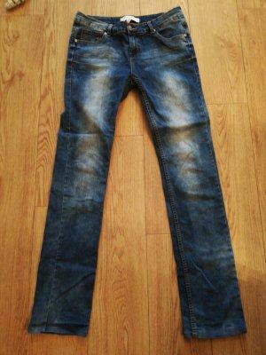 Fritzi aus preußen Straight Leg Jeans dark blue