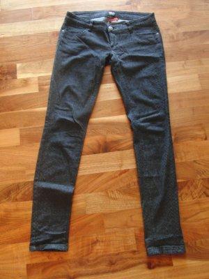Tolle Jeans von ONLY - Schlangenprint - Gr. M (38)