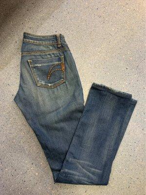 Phard Jeans vita bassa multicolore