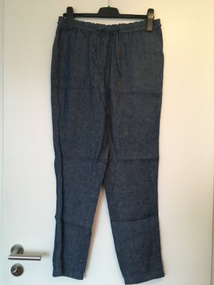 Tolle jeansblaue Chinohose/Leinenhose ~ Gr. 38 ~ NEU