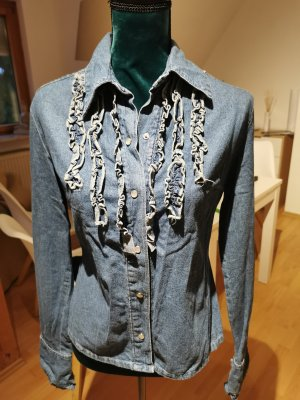 Tally Weijl Blusa denim blu