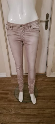 Please Jeans slim fit grigio chiaro-beige