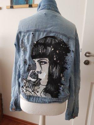 Only Jeansowa kurtka jasnoniebieski