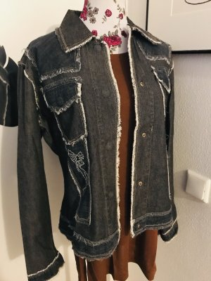 Tolle Jeansjacke von Indian Rose - Gr. S-M