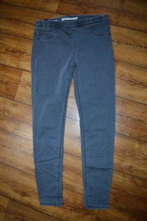 Bershka Jeans elasticizzati grigio scuro