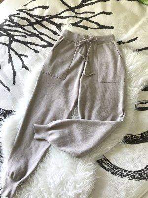 Pantalone fitness beige chiaro-beige
