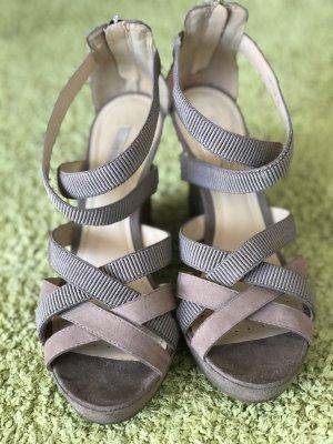 tolle keil sandaletten von geox - beide 38