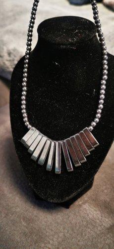 Tolle Kette Halskette Magnetkette anthrazit neu und ungetragen Unisex