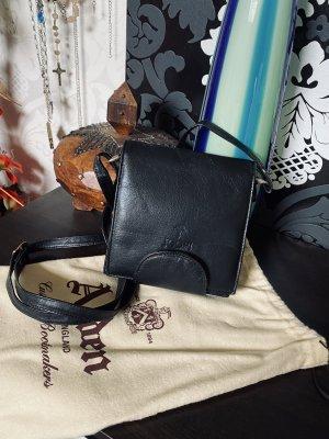 Tolle kleine Joop Tasche schwarz Leder Vintage