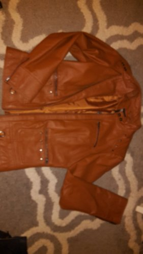 BC Collection Leather Jacket bronze-colored