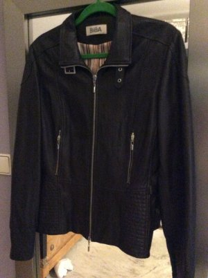 Biba Leather Jacket cognac-coloured leather