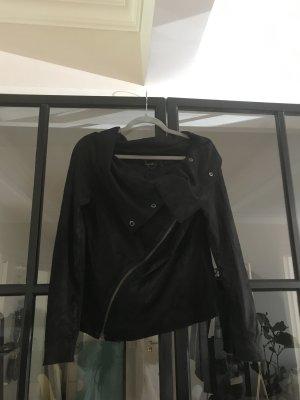 Muubaa Veste noir cuir