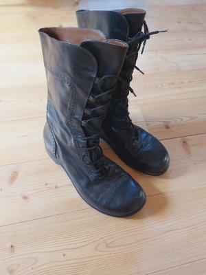 Footprints Aanrijg laarzen zwart