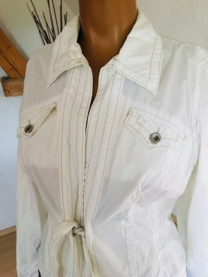 Mexx Blouse Jacket white
