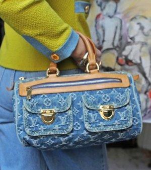 Tolle Louis Vuitton Denim Tasche