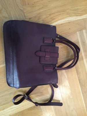 Tolle MARC O'POLO Ledertasche in Bordeaux, sehr guter Zustand