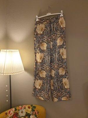 H&M Trend Spodnie Marlena złoto-chabrowy