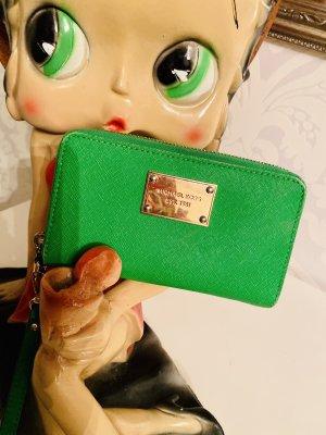 Tolle Michael Kors Geldbörse Portmonee Geldbeutel Gras grün Top