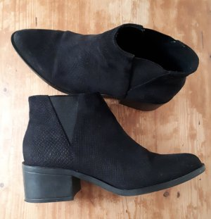 H&M Divided Booties black