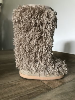 Casadei Snow Boots cream