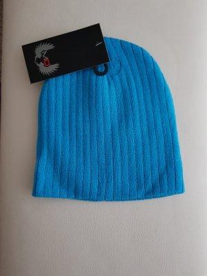 Fabric Hat neon blue