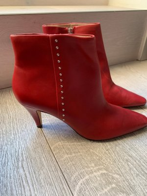 Zara Ankle Boots red