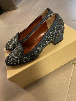 John Grey Pantofola azzurro